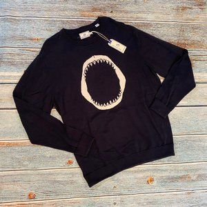 NEW Southern Tide Men's Navy Shark Jaws Sweater XL